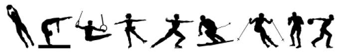 Sport Font LOWERCASE