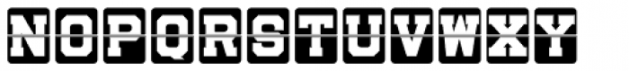 Sportsboard JNL Regular Font LOWERCASE