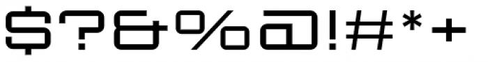 Sporty Pro Light XP Font OTHER CHARS