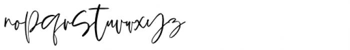 Spring Blush Regular Font LOWERCASE