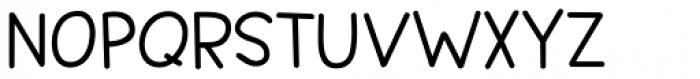 Springwood Line Bold Font UPPERCASE