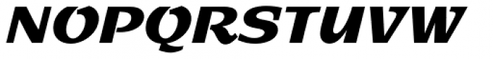 Sprint Std Regular Font UPPERCASE