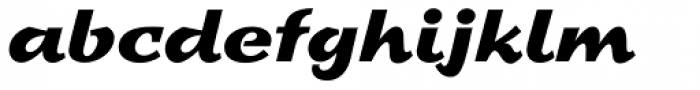 Sprint Std Regular Font LOWERCASE
