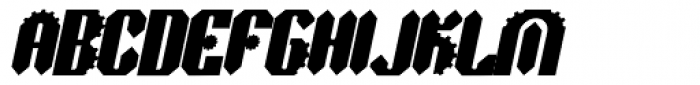 Sprokett Outerkog Italic Font UPPERCASE