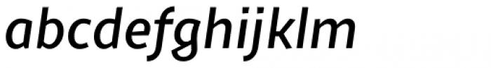 Sprout Medium Italic Font LOWERCASE