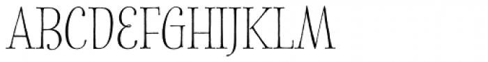 Spry Roman Smallcaps Font UPPERCASE