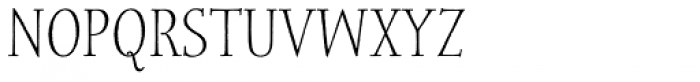 Spry Roman Smallcaps Font LOWERCASE