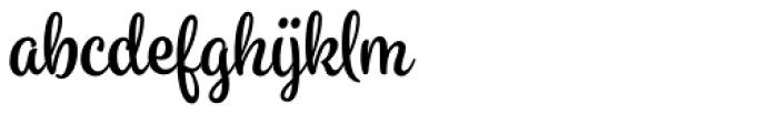 Spumante Basic-Bold Font LOWERCASE