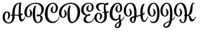 Spumante Bold Font UPPERCASE