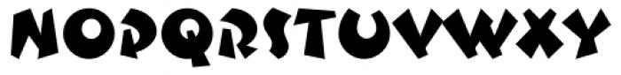 Sputnik Regular Font UPPERCASE