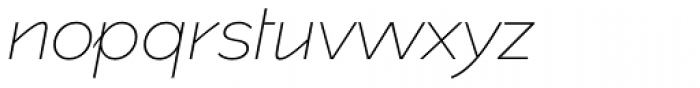 spectators headline Ultralight Italic Font LOWERCASE