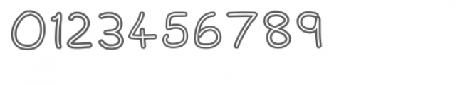 Spagbowl Outline Regular Font OTHER CHARS