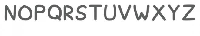 Spagbowl Regular Font UPPERCASE