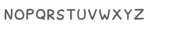 Spagbowl Regular Font LOWERCASE