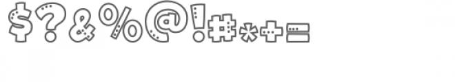 spotty dotty font Font OTHER CHARS