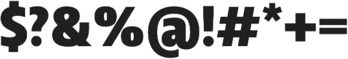 Squalo Black otf (900) Font OTHER CHARS
