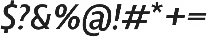 Squalo Normal Italic otf (400) Font OTHER CHARS