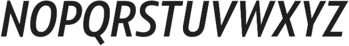 Squalo Normal Italic otf (400) Font UPPERCASE