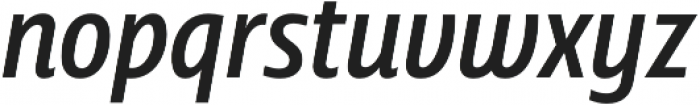 Squalo Normal Italic otf (400) Font LOWERCASE