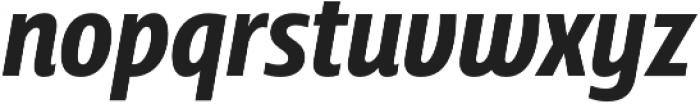 Squalo Semibold Italic otf (600) Font LOWERCASE