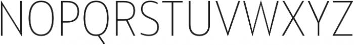 Squalo UltraLight otf (300) Font UPPERCASE