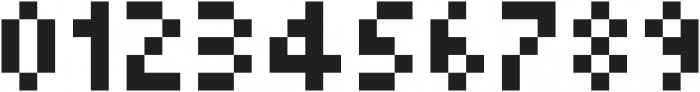 Squarebit2Px ttf (400) Font OTHER CHARS