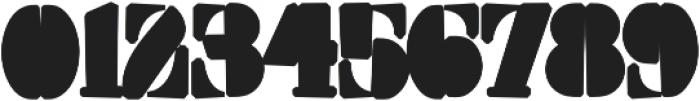 Squarefill Regular otf (400) Font OTHER CHARS
