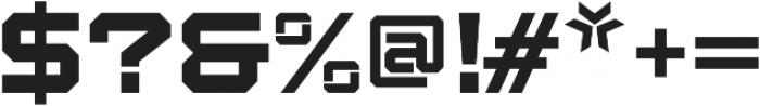 Squartiqa 4F Light otf (300) Font OTHER CHARS
