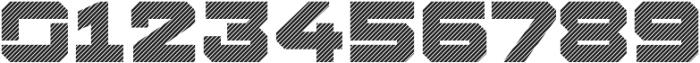 Squartiqa 4F Stripes otf (400) Font OTHER CHARS