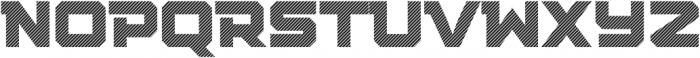Squartiqa 4F Stripes otf (400) Font UPPERCASE