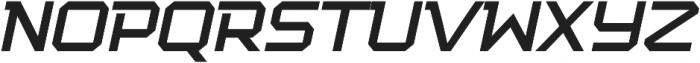 Squartiqa 4F UltraLight Italic otf (300) Font UPPERCASE