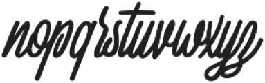 Squizers otf (400) Font LOWERCASE