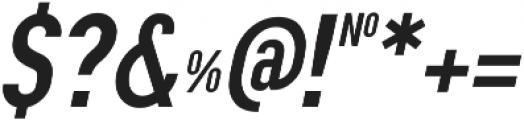 Squoosh Gothic Regular Oblique ttf (400) Font OTHER CHARS