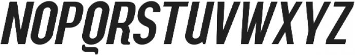 Squoosh Gothic Regular Oblique ttf (400) Font UPPERCASE
