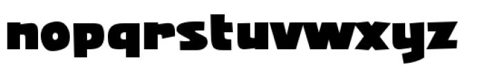 Squarejaw Intl BB Regular Font LOWERCASE