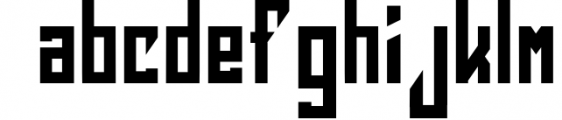 Squareslam sports and esports font Font LOWERCASE
