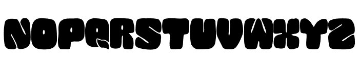 SQUANDED-Black Font LOWERCASE