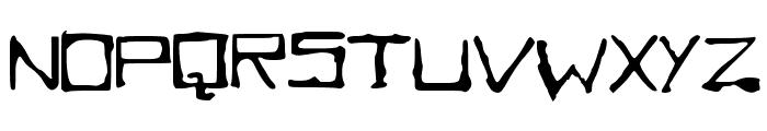 SQUAREBABY Font UPPERCASE