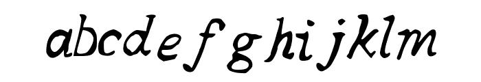 SQUAREBABY Font LOWERCASE