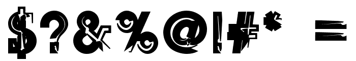 SqSerifThree Font OTHER CHARS