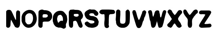 Squa Tront! Font UPPERCASE