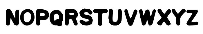 Squa Tront! Font LOWERCASE