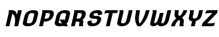 Square Antiqua Bold Oblique Font UPPERCASE