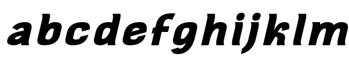 Square Antiqua Bold Oblique Font LOWERCASE