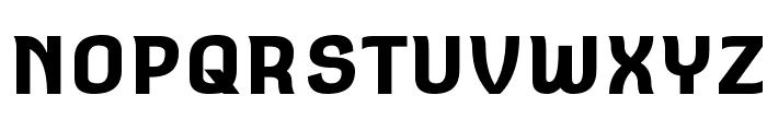 Square Antiqua Bold Font UPPERCASE