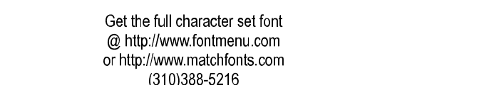 Square Text Tryout Font OTHER CHARS