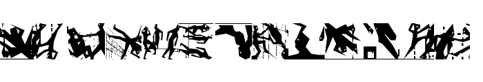 Squaredances Font UPPERCASE