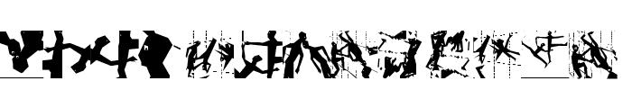 Squaredances Font LOWERCASE