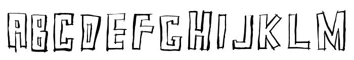 SquarehouseInline Font UPPERCASE