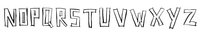 SquarehouseInline Font LOWERCASE